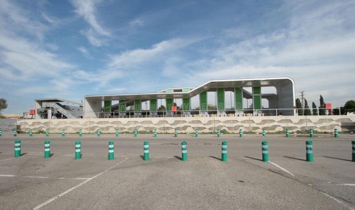 Deixalleria Mercabarna, estructura, punt verd, punto verde, centro de recogida