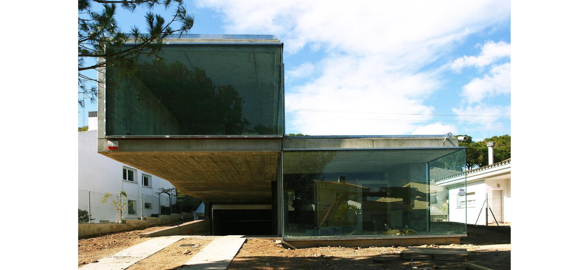 Villa Bio, Habitatge, unifamiliar, Figueres, vivienda, unifamiliar, Family housing, hormigon, concrete, formigó.