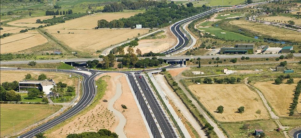 Vila-seca, Raval de la Mar, TV-3148, La Pineda, Tarragona, Rotonda, Ponts,