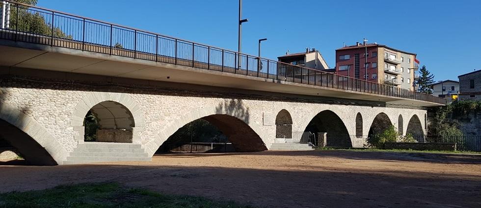 pont, diputació, barcelona, rehabilitació, puente, manlleu, rehabilitacion, enginyeria reventos, bridge